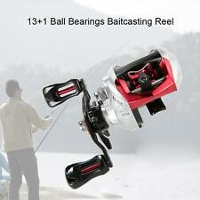 13+1BB 6.3:1 Gear RatioBearings Fishing Baitcast Reel Baitcasting Reel N0A2