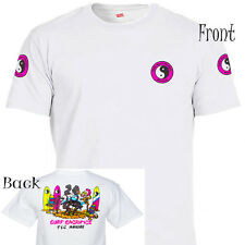 """T&C,Town and Country Hawaii,""""Surf Sacrifice"""" T-Shirt,All Sizes,T-1020White"""