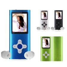 "8GB-32GB MP3 MP4 Player 1.8"" Digital LCD Screen FM Radio Video Games Movie"
