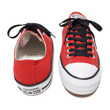 Converse All Star Chuck Taylor Red Canvas Trainers Sneakers women's Shoes 142760