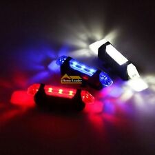 LED Mountain Road Bicycle Bike Rear Tail Light 4 Mode Back Lamp USB Rechargeable