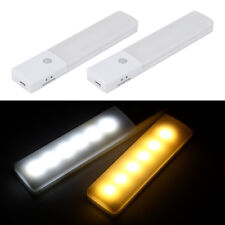 Infrared Induction Motion Sensor Lamp USB Rechargeable Wardrobe Night Lights ZY
