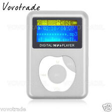 USB Digital MP3 Music Player LCD Screen Metal Support 32GB Micro SD TF Card