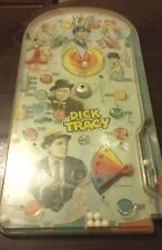 """Dime Store Novelty Marx Dick Tracy Pinball Game 24"""" Tall By 12"""" Wide 1967"""