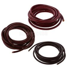 2Meters 4mm Leather Cords String for DIY Necklace Bracelet Beading Jewelry Craft