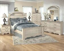 Champagne Marble King Queen 4 Piece Poster Bed Bedroom & Furniture Collection