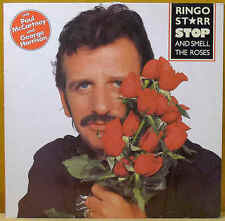 STARR, RINGO Stop And Smell The Roses LP Boardwalk Entertain Bellaphon D 1981
