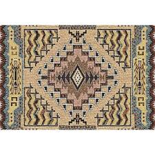 Southwest Butte Clay Art Tapestry Placemat 3967-PM ~ Made in USA