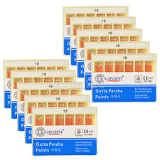 50 Packs Dental Gutta Percha Points Endodontic Root Canal Treatment GAPADENT 15#