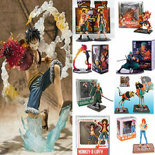 One Piece POP PVC Action Figure Figurines Luffy /Ace /Zoro /Sanji Toys JP Anime