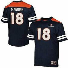 Denver Broncos Peyton Manning #18 Mens Majestic Hashmark Jersey Big & Tall Sizes