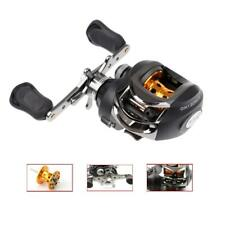 Low Profile Fishing Baitcasting Reel 6.3:1 Gear Ratio Smooth Fishing Reel 9+1BB