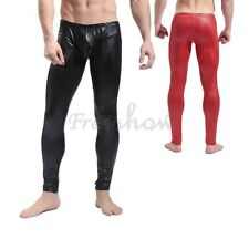 Men Sexy Long Johns Bulge Pouch Stretch Underwear Trousers Pants Leggings S-XL