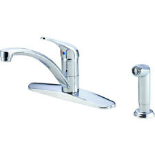 Danze D407712 Melrose 1 Handle Kitchen Faucet with Spray 1.75 GPM Chrome
