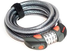 Raleigh Small Steel Cable Combination Bike / Cycle Bicycle Lock