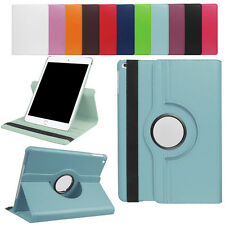 For New iPad 360° Rotating Leather Case Smart Cover Swivel Stand Premium Leather
