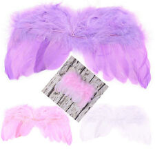New Newborn Baby Angel Feather Wings Kids Photo Props Party Halloween Costume