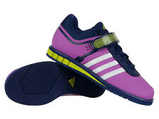 Women's adidas Powerlift 2.0 Shoes Solid Weight Lifting Trainers Pink