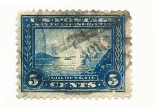 US STAMP SC# 399 USED FINE VF Panama-Pacific Perf.12