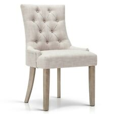 French Provincial Dining Chair - Beige
