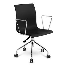 Modern Office Chair with Armrests Black