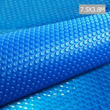 Solar Swimming Pool Cover Bubble Blanket 7.5m X 3.8m