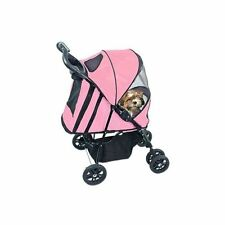 Pet Gear Happy Trails Plus Pet Stroller with Weather Guard for cats and dogs up