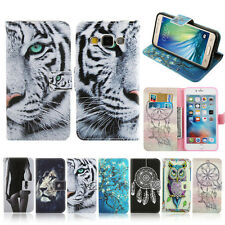Flip PU Leather Wallet Soft Phone Case Cover For Samsung Galaxy A3 A5 J7 S5 S6