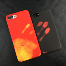 Magic Heat Sensitive Change Color Back Case Cover For iPhone 6S 7 Samsung S8 +