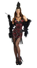 Sexy Dames Like Us Sequin Flapper Costume Dress Adult