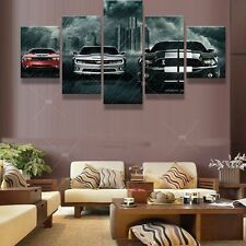 Ford Mustang Car Picture Canvas Wall Abstract Painting Modern Art Home Decor