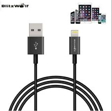BlitzWolf MFI Licensed Lightning To USB Data Sync Cable For Apple iPhone iPad