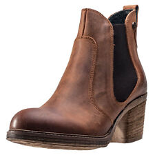 Oak & Hyde East Chelsea Womens Chelsea Boots Cognac New Shoes