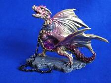 CHAINED DRAGON ORNAMENT / FIGURINE RED OR GREEN