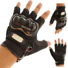 Guantes Motorcycle Gloves Biker Racing Motocross Motorbike Gloves Half Finger