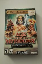 Age of Mythology Game of the Year Edition (PC, 2002) Complete w/key.