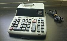 Canon MP 25 DV Desk Top Printing Financial Calulator Adding Machine MP25DV
