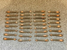 LOT OF 34 OLD/VINTAGE CARPET STAIR CLIPS - GOOD CONDITION