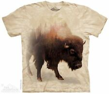 Bison Forest T-Shirt from The Mountain - Adult S - 5X