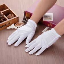 White Soft cotton Gloves inspection size XL Antique Coin Jewelry 3/5/10 Pairs