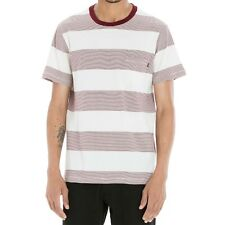Obey 'Wythe' T-Shirt Burgundy,Size M & L,100% AUTHENTIC OBEY CLOTHING,BNWT