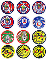 Official Mexican Soccer Teams Coaster America,Chivas,Pumas,Cruz Azul Lot