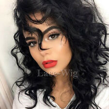 Outre Natural Lace Front Synthetic Hair Bob Wig Glueless Short Wavy Curly Wig #b