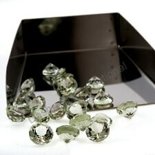 GREEN AMETHYST GREEN  COLOR 4 MM TO 20 MM ROUND FACETED CUT LOOSE GEMSTONE