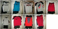 * NWT NEW BOYS 2PC NIKE TANK TEE SHORTS SUMMER OUTFIT SET 2T 4T 4 6 7