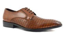 Gucinari JP7196 Beso Brown Derby Lace-Up Men's Shoes