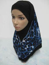 New Style Women 2 Piece Amira Muslim Hijab Islamic Scarf Shawl Wrap Headwear