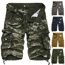 Army Men Summer Casual Cargo Shorts Slacks Pants OUTDOOR Combat Sports Trousers