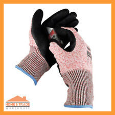2 Pairs Cut 5 Work Glove Komodo Gripster Hand Protection Mechanic Work Safety