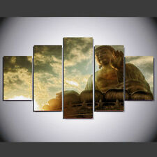 Buddha Portrait Picture Canvas Painting Abstract Wall Modern Art Home Decor